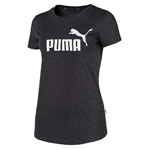 Puma Essentials Damen T-Shirt Dark Gray Heather XS