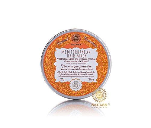 APC Masque, spa Masque de mer Masque pour les cheveux 100% naturel, fabriqué en UE, maquillage vit.-E Renforcement des cheveux favoriser la croissance aussi pour boucles