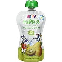 HiPP Kiwi in Birne-Banane - Charlie Zebra, 6er Pack (6 x 100 g)