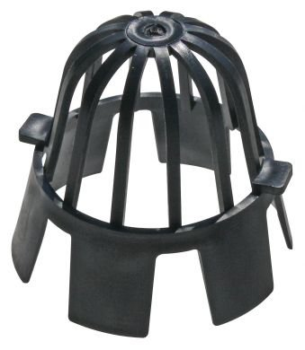 Confezione da quattro (4) x fascette per tubo di scarico di guardie 68 mm, 61 (Cap Tetto Di Scarico)