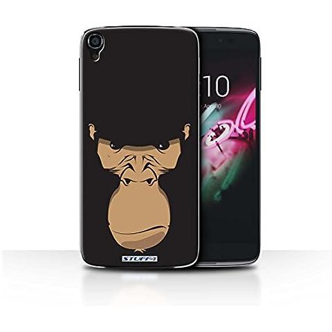 STUFF4 Funda de diseño de Skin // / ALCIDL347/de caras de Animal de la colección de gorila