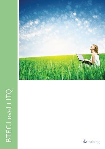BTEC Level 1 ITQ - Unit 101 - Improving Productivity Using IT Using Microsoft Office (Btec Itq) by CiA Training Ltd. (13-Apr-2012) Spiral-bound