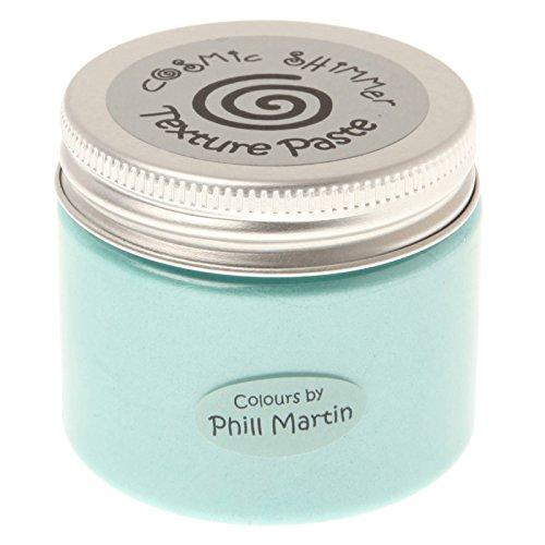 Phill Martin CSPMPASTFRAQUA Cosmic Shimmer Texture Paste, Frosted Aqua