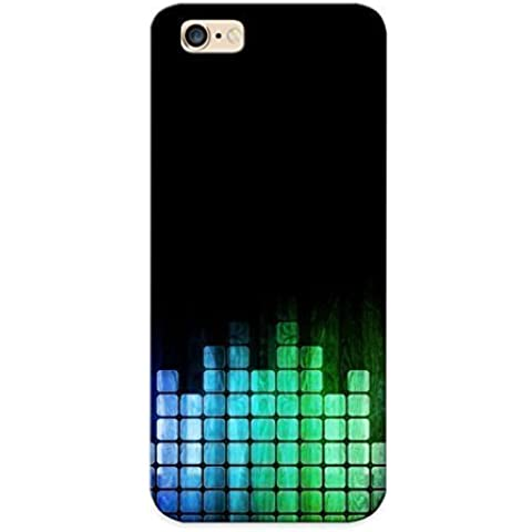 03381856856 Tpu Phone Case With Fashionable Look For Iphone 6 Plus - Colorful Equalizer Bars Case For Christmas Day's Gift