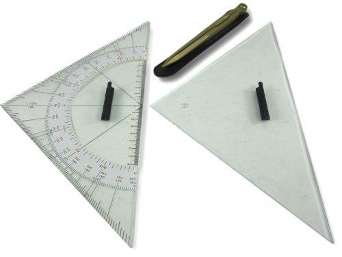 Ausbildungsset Kursdreieck 33,5cm Marinezirkel