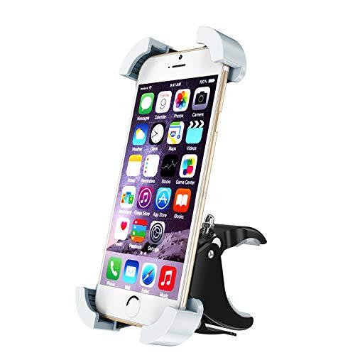 HelloToday Soporte Universal para teléfono móvil de Motocicleta y Bicicleta, Soporte para Manillar...