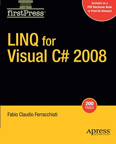 Linq for Visual C# 2008 (Firstpress) por Fabio Claudio Ferracchiati