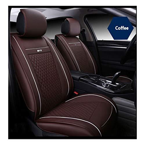 YE Sitzbezügesets PU-Leder Auto Sitzbezug Vier Jahreszeiten General Style (Farbe : C)