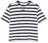 TOMMY HILFIGER Rugby Stripe Boxy S/s T-Shirt, Bleu (Black Iris/Bright White 002), 92 Bébé garçon