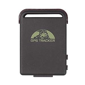 Foxnovo TK102B Quad-Band GSM GPRS étro SMS à Tracker récepteur avec TF Card Slot UE-Branchez ladaptateur secteur (noir)