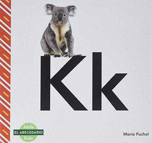 Kk (Spanish Language) (El abecedario/ The Alphabet) por Maria Puchol