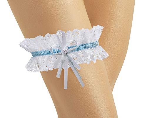 Giarrettiera per matrimonio - giarrettiera da sposa classic - giarrettiera nuziale - accessori nuziale - dono di damigella d'onore o madro sposa per la sposa - pizzo morbido elastico - bianco
