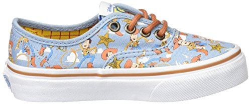 Vans Authentic, Baskets Basses Mixte Enfant Multicolore (Toy Story) Woody/Bo Peep_M4Z)