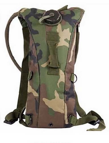 HWB/ 2.5 L Pack d'Hydratation & Sac-gourde Camping & Randonnée / Cyclisme/Vélo Outdoor Multifonctionnel Camouflage TPU other