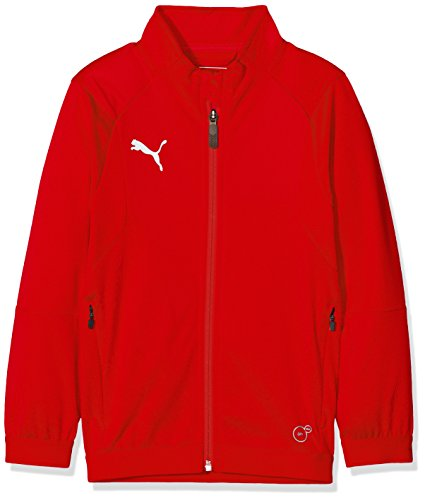 PUMA Kinder Liga Training Jacket Jr Jacke, Red White, 116