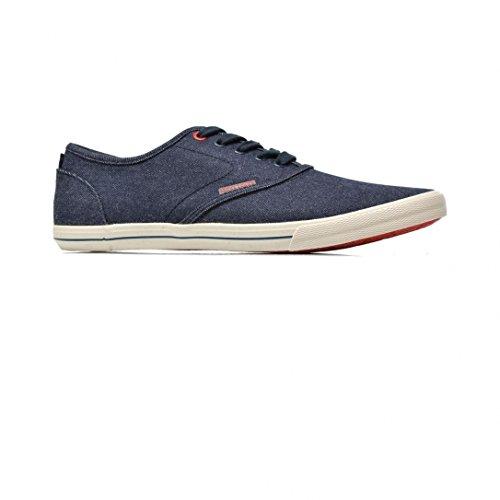 JACK & JONES Herren Jjspider Canvas Sneaker Light Blue Denim Low-Top