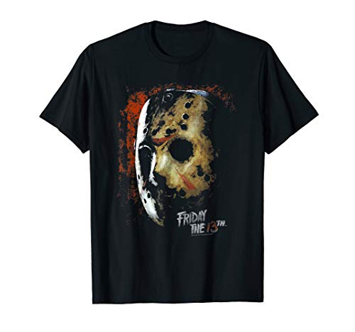 Jason T-shirt Tee (Friday the 13th Mask of Death T Shirt)
