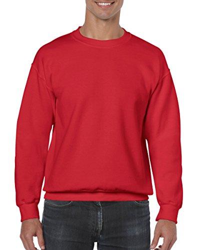 Gildan Heavy Blend 50/50Sweatshirt Rot