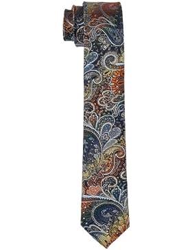 Schwarze Rose Herren Krawatte 17