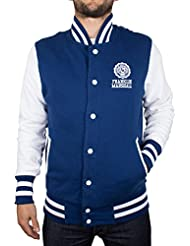 Franklin & Marshall Herren Baseball Jacket, Blau