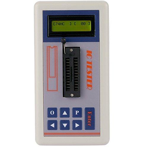 KUNSE Multifunktionaler Transistor Tester Integrierter Schaltkreis Ic Tester Meter Wartungs Tester Mos Pnp Npn Detektor 3.3 V/5.0 V/Auto Search Mode