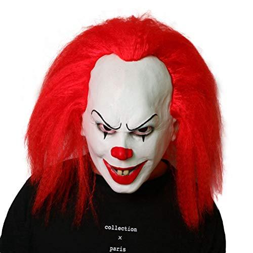 Halloween Kostüm Party Requisiten Maske Clown Mit Rotem Haar, Kapitel Eins