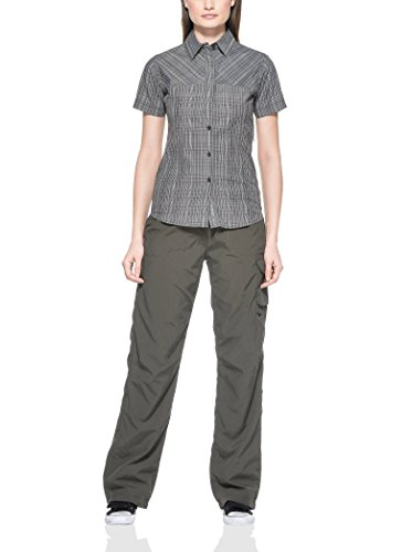 SALEWA Damen Hemd Sira Dry Am W Short Sleeve Shirt Anthrazit