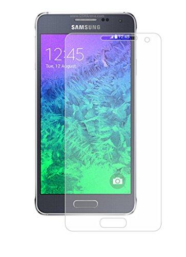 Membrane 6 x Pellicola Protettiva compatibile con Samsung Galaxy Alpha (SM-G850, G850A, G850T, G850M, G850Y, G850FQ, G850F) - Trasparente, Confezione ed accessori