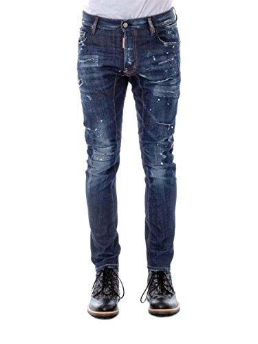 DSquared2 Tidy Biker Dsquared D2 Herren Jeans Blau