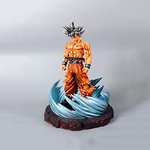 LLKOZZ Dragon Ball Anime Estatua PVC Wukong Plus Resina Base de Juguete Modelo Regalo de Cumpleaños Exquisito Anime Decoración Colección de Artesanías-13 Juguete