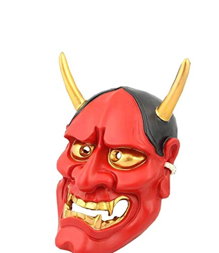 Japanische Buddhistische Böse Oni NOH Hannya Maske Halloween Vampire Ghost Kostüm Requisiten Cosplay Maske Für Männer & Frauen Party - Japanische Kostüm Männer