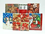 Lotto 12 - Set di 20 tovaglioli di carta motivi di Natale Series III 33 centimetri - Qualità COOLMINIPRIX®