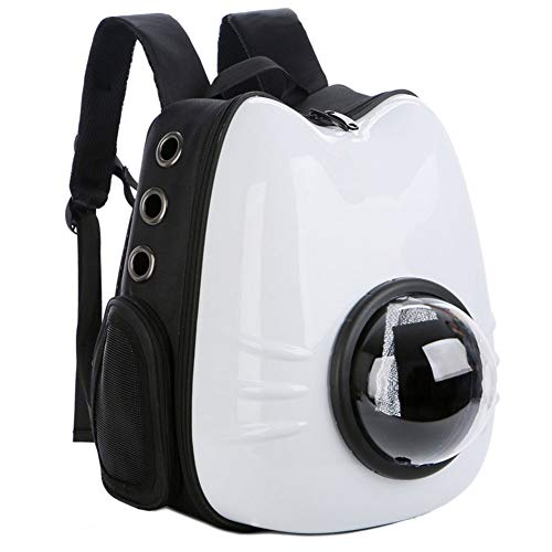 IOIOA Haustierrucksack, Space Capsule Bubble Design, tragbarer Haustierrucksack für Katzen, kleine Hunde und zierliche Tiere,C