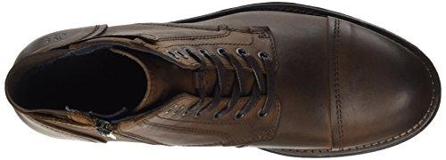 Marc O'Polo Herren Bootie Combat Boots, Braun (Mocca), 44 EU - 7
