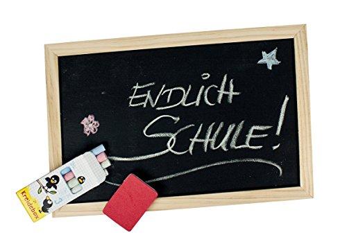 Trendhaus 942791 - Kreidetafel Lernen leicht gemacht