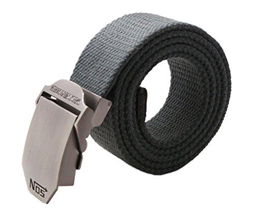 Meta-U - Fibbia cintura grigio scuro Taglia