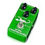 Green,JF-10 Dynamic Compressor Gitarren-Effektpedal sorgt für ausgewogene Performance (Farbe: Grün)