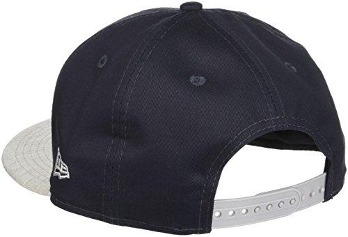 New Era Herren Snap Baseball-Cap, one size Marine/Gris