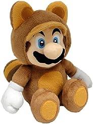 Namco Bandai - Peluche Tanooki Mario De 21 cm, Plush