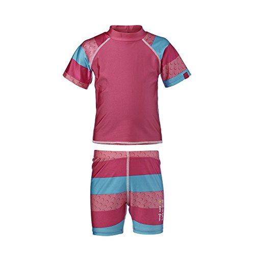 LEGO® WEAR Badeshirt und Shorts TOD Baby-Bademode UV-Schutz-Kleidung, Größe 86, pink
