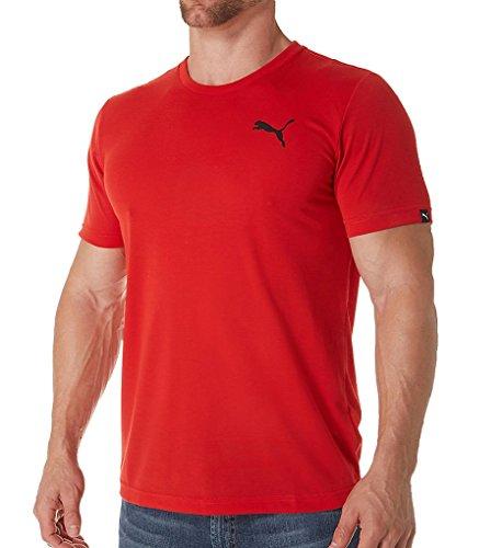 PUMA adulto unisex da uomo Active T-shirt  Camicia Puma Red