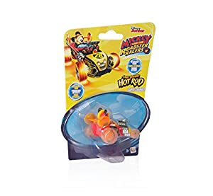 Mickey Mouse- Mini Vehículos: Supercharged Hot Rod, Multicolor (IMC Toys 183766)