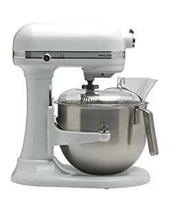 kitchenaid 5ksm7591xewh k chenmaschine 1 3 hp heavy duty 6 9l wei. Black Bedroom Furniture Sets. Home Design Ideas