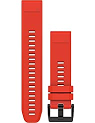 Garmin fenix 5 Silikonarmband QuickFit 22mm red 2017 Zubehör