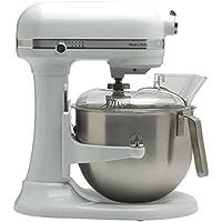 Kitchenaid 5KSM7591XEWH Küchenmaschine 1.3 HP Heavy Duty 6,9L, Weiß