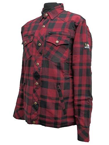 Price comparison product image Bores Lumberjack Jacken-Hemd Red / Black-XL