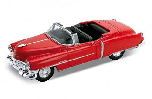 1953-cadillac-eldorado-convertible-welly-42356-rojo-143-die-cast