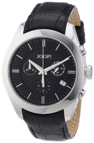 Joop JP101042F01 - Orologio da polso donna, pelle, colore: nero