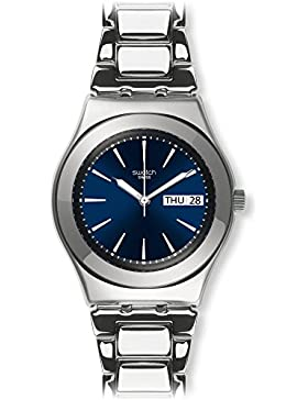Swatch Unisex Erwachsene-Armbanduhr YLS713G