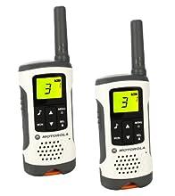 Motorola T50 Walkie Talkie 8channels two-way radio - Two-Way Radios (8 channels, 6000 m, AAA, Nickel-Metal Hydride (NiMH), 103 g, 55 x 165 x 30 mm)